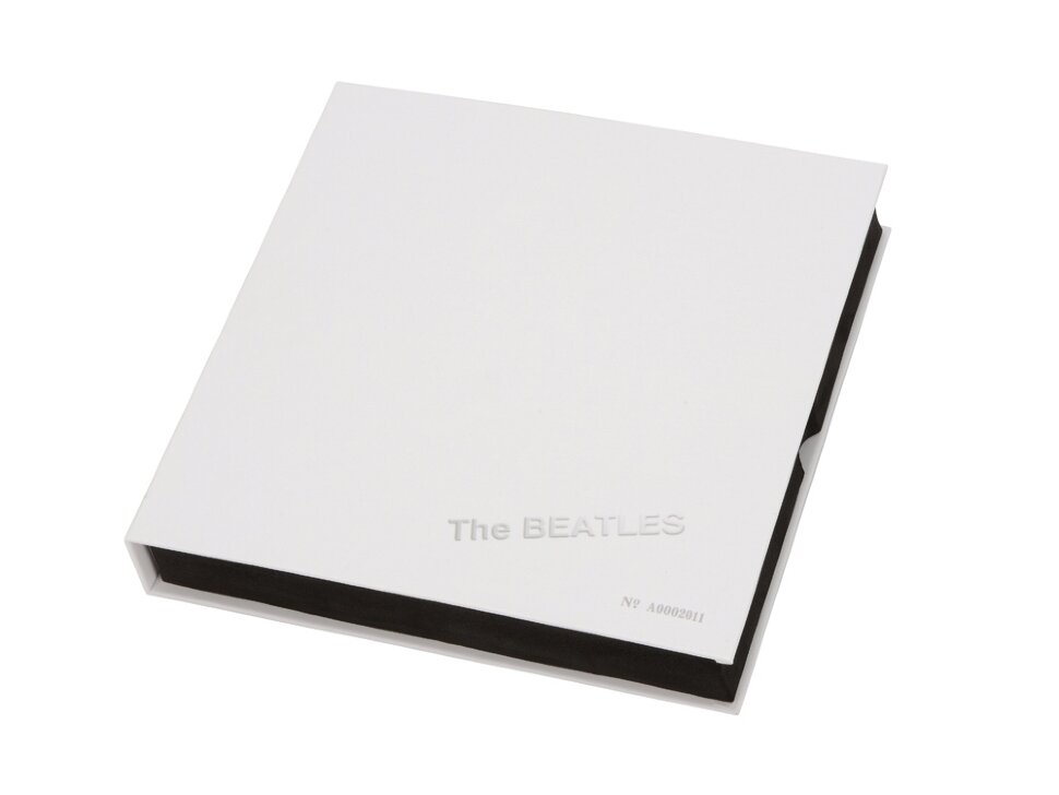 Набор The Beatles WHITE ALBUM: визитница, ручка роллер